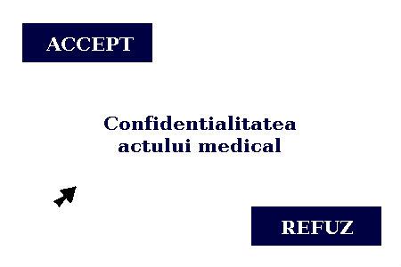 Consultatia medicala si confidentialitatea actului medical